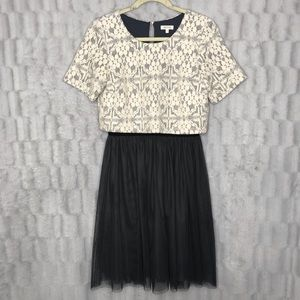 Anthropologie Weston Wear Lace Tulle Dress